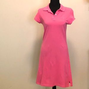 Lilly Pulitzer Pink Polo Style Dress